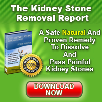 The Kidney Stone Removal Ebook